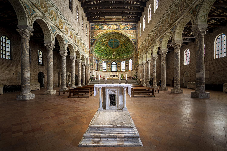 01 Navata Centrale Apollinare In Classe Ravenna