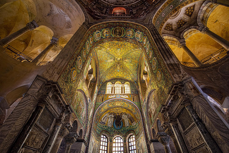 2-...mosaici Del Presbiterio E Abside... Ravenna