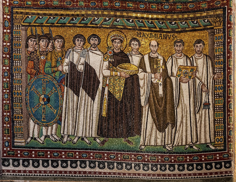 4-...Giustiniano I E La Sua Corte... Ravenna