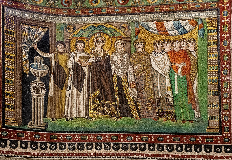 5-...l\'Imperatrice Teodosia E Nobildonne... Ravenna