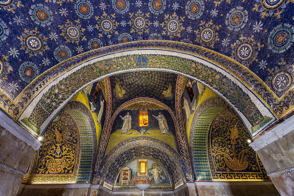 Ravenna 02 Mausoleo Di Galla Placidia...archi E Sottarchi...