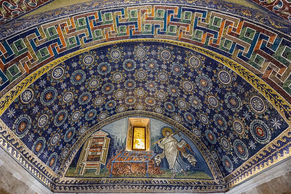 Ravenna 5-...lunetta Di S. Lorenzo Che Va Alla \'graticola\'...