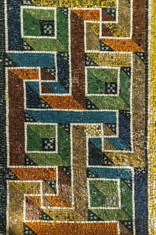Ravenna 9-...dettaglio...motivo Geometrico