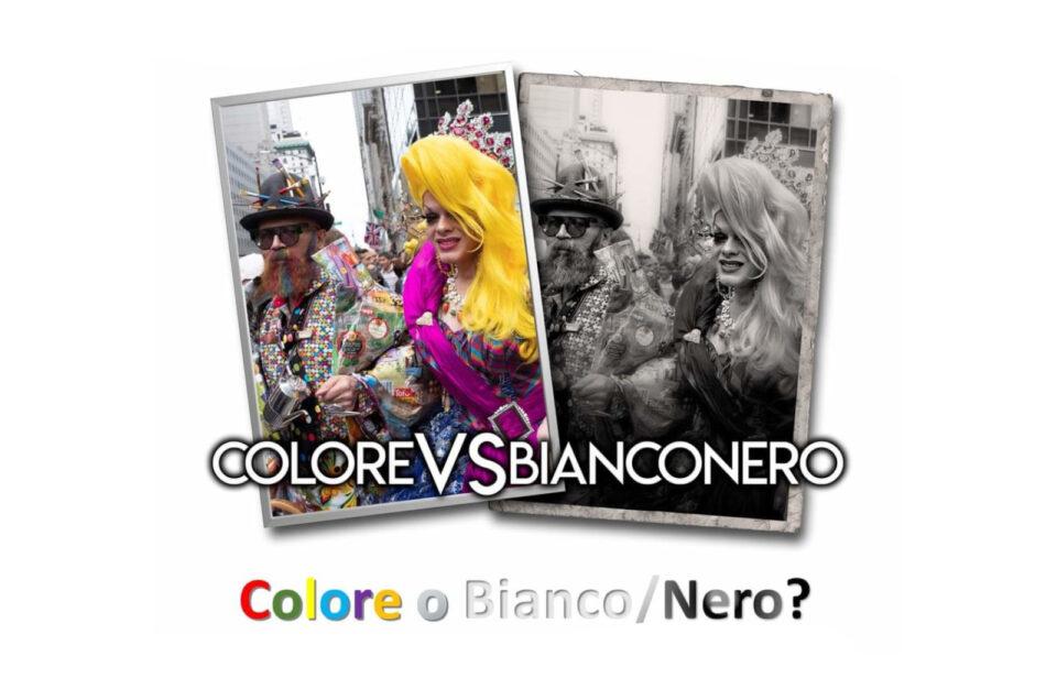 Colore <BR> Vs BiancoNero